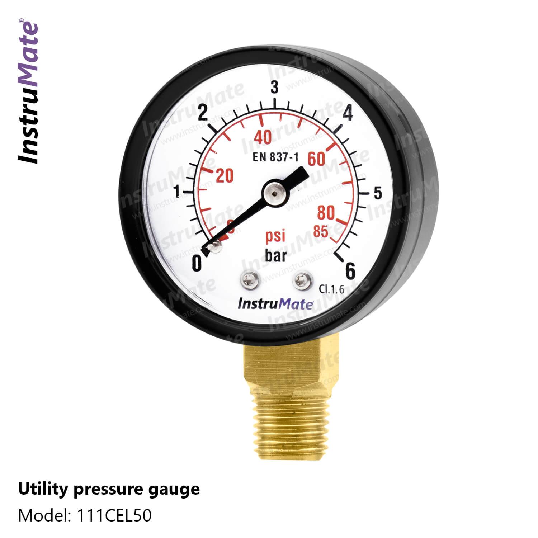 Utility Pressure Gauge - 111CF - Instrumate
