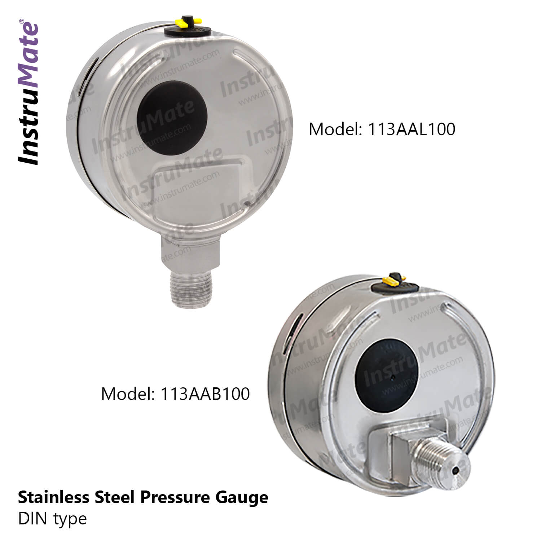 113AA full stainless steel - Instrumate