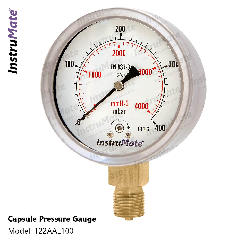 Capsule pressure gauge - 122AA - InstruMate