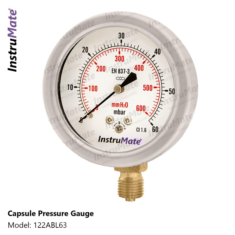 Capsule pressure gauge - 122Ab - InstruMate