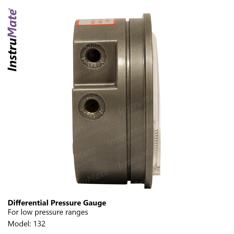 Low pressure differential pressure gauge - 132 - instrumate