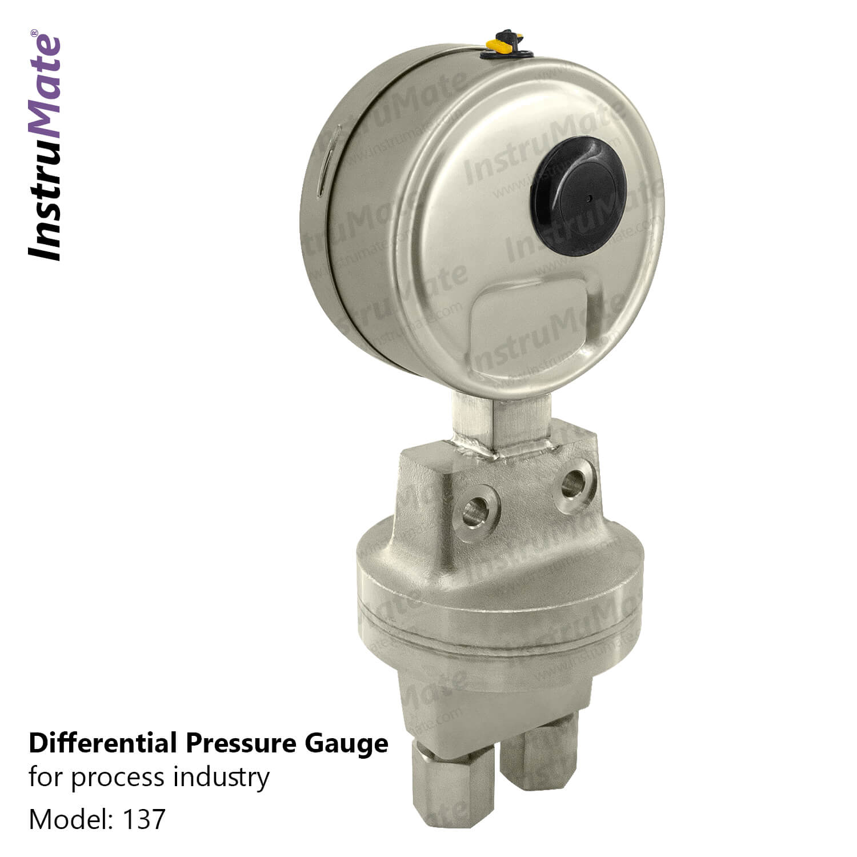 Differential pressure gauge - 132 - instrumate