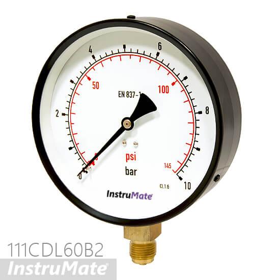 6 inch pressure gauge