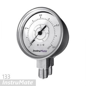 bourdon tube differential pressure gauge