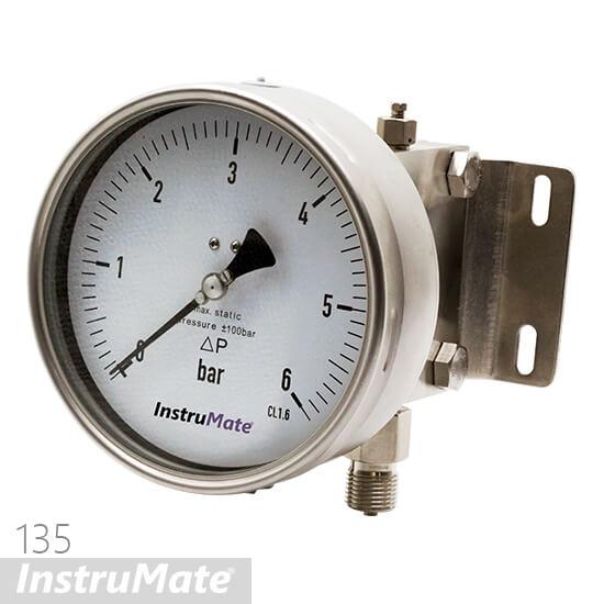 diaphragm differential pressure gauge
