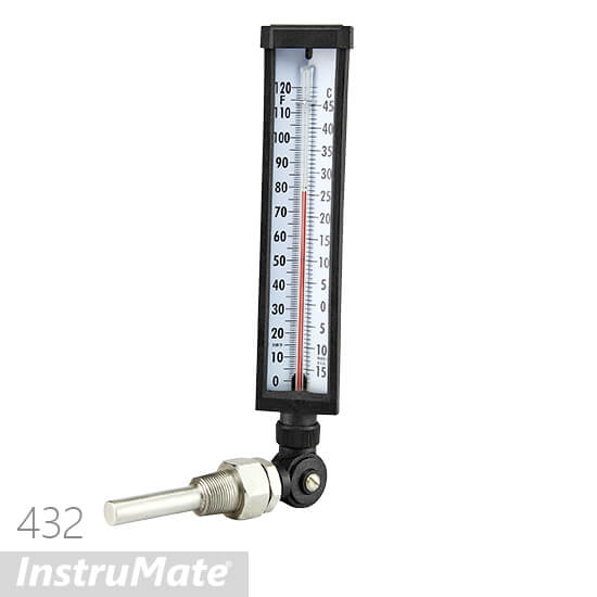 every angel glass thermometer