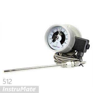 Electric contact temperature gauge