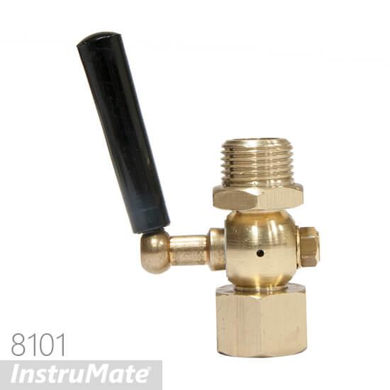 pressure gauge cock valve