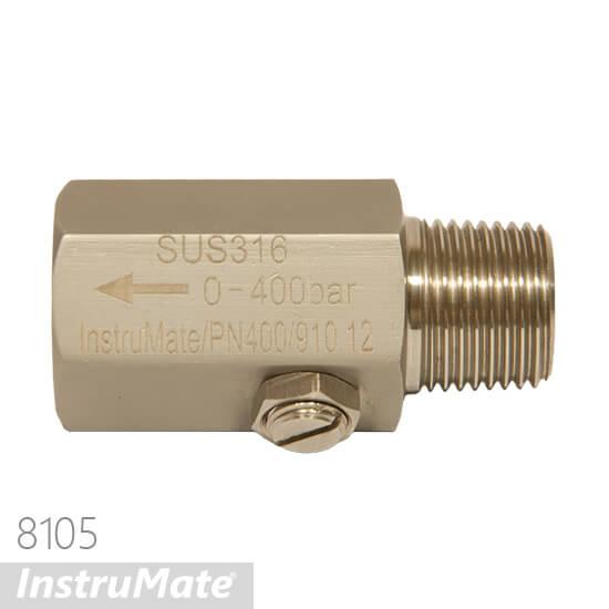 pressure gauge snubber
