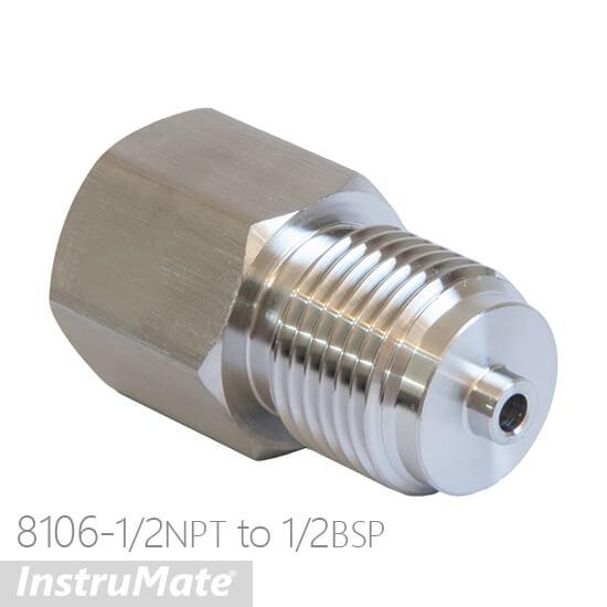 SS adaptor NPT to BSP