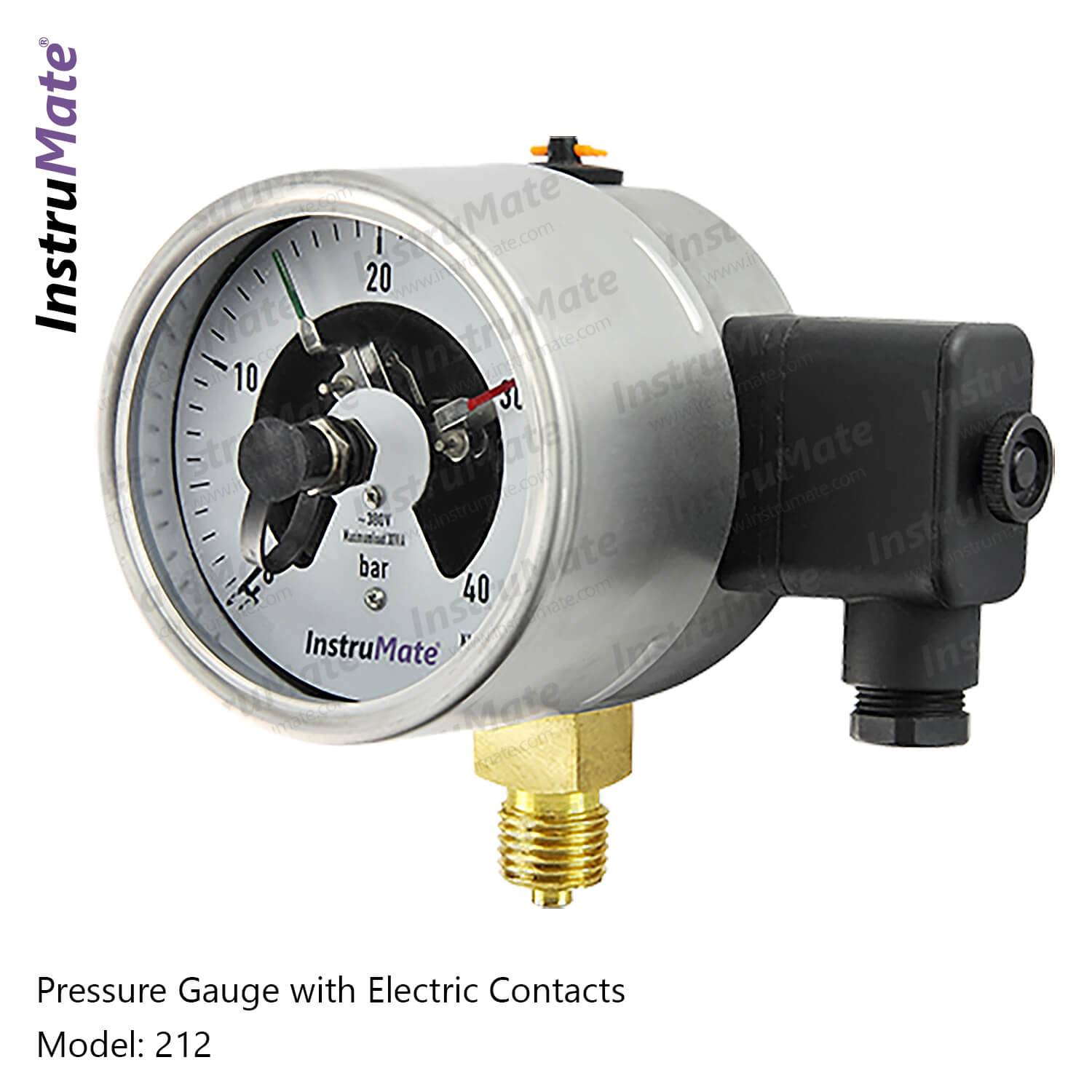 Electric Contact Pressure Gauge - 212 - Instrumate