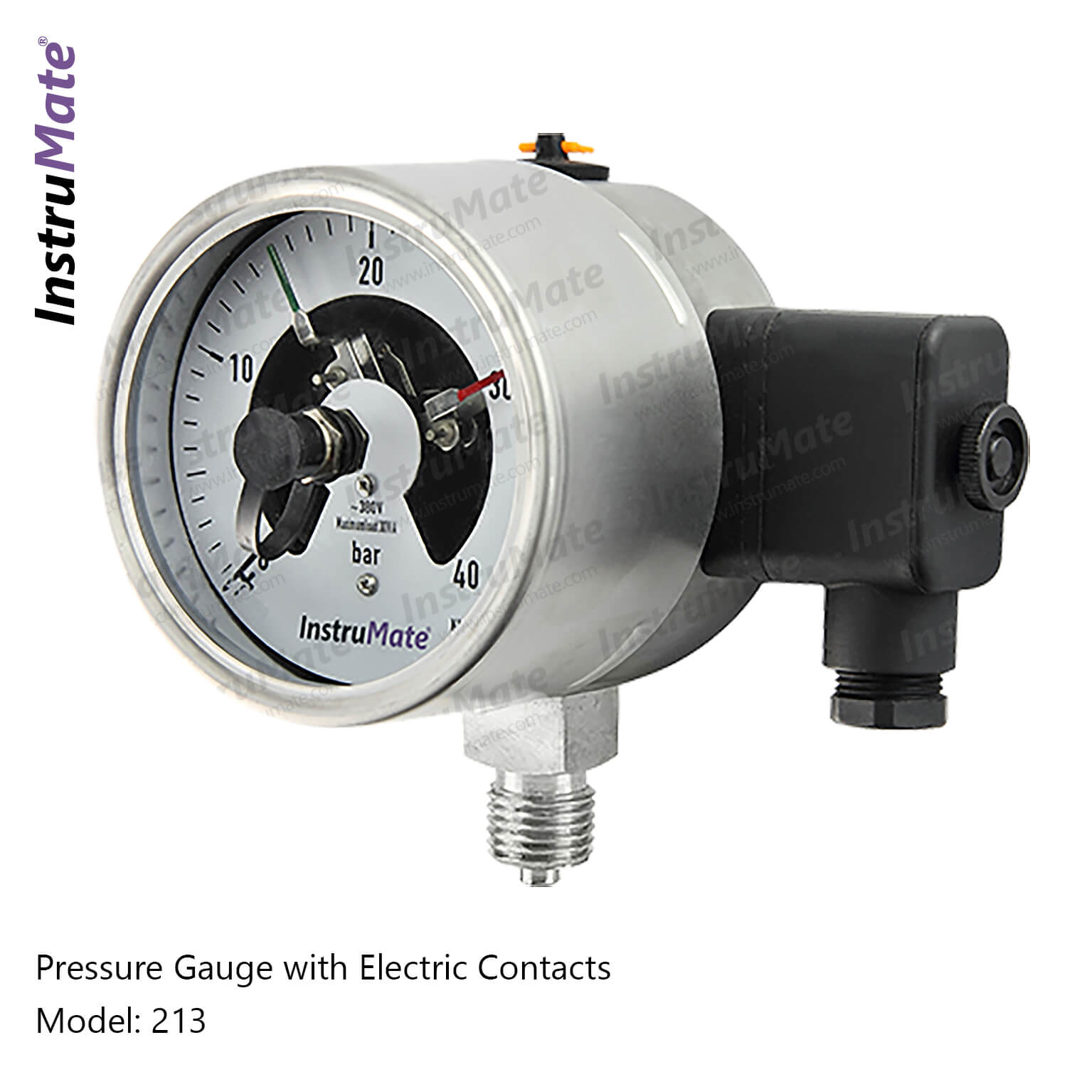 Electric Contact Pressure Gauge - 213 - Instrumate