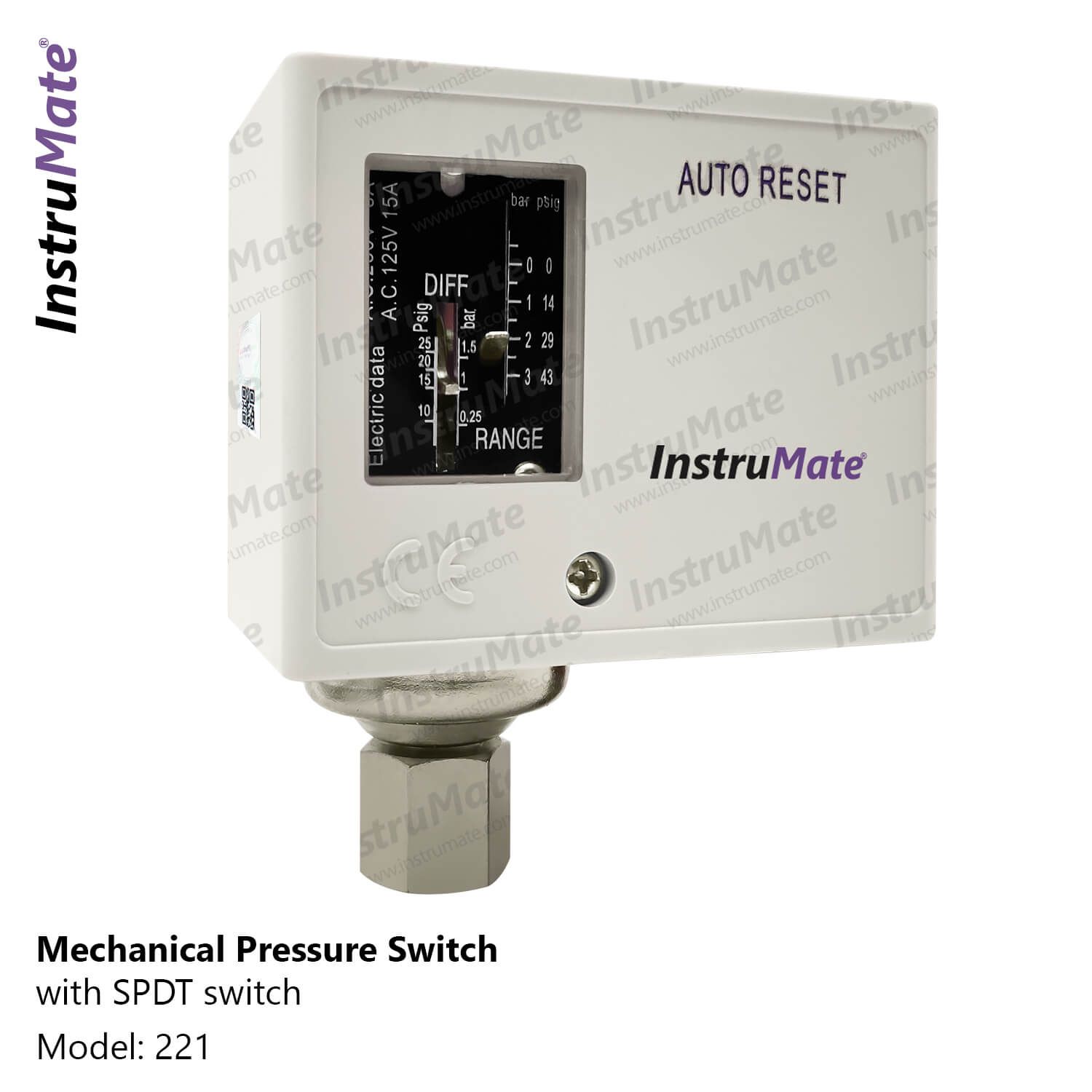 Pressure Switches - 221 - instrumate