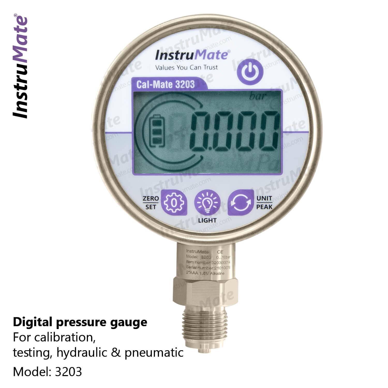Digital pressure gauge - 3203 - Instrumate
