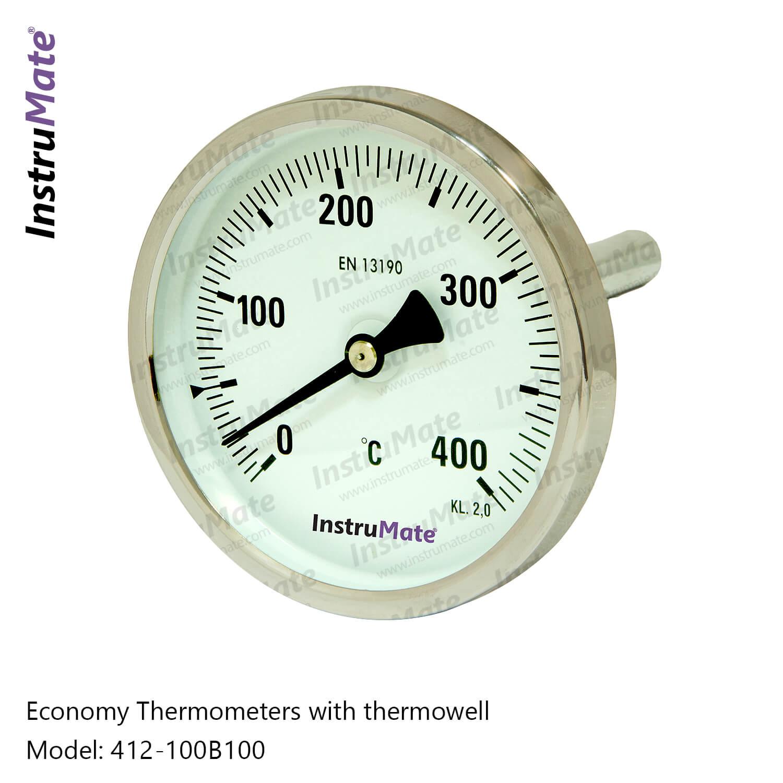 Bimetal thermometer - 412 - InstruMate