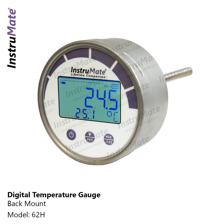 Digital Temperature Gauge - 62 - instrumate