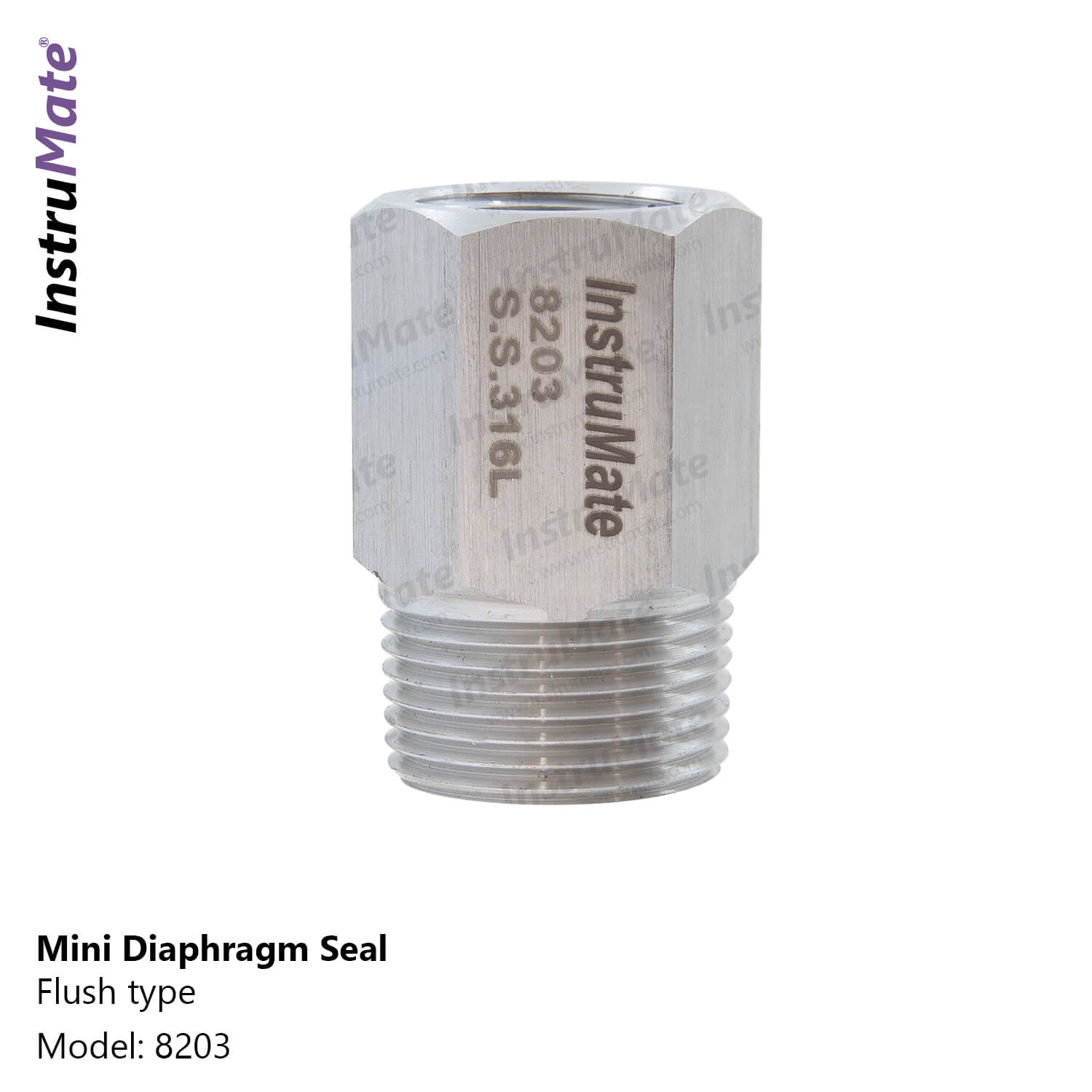 Mini Diaphragm Seal - 8203 - InstruMate