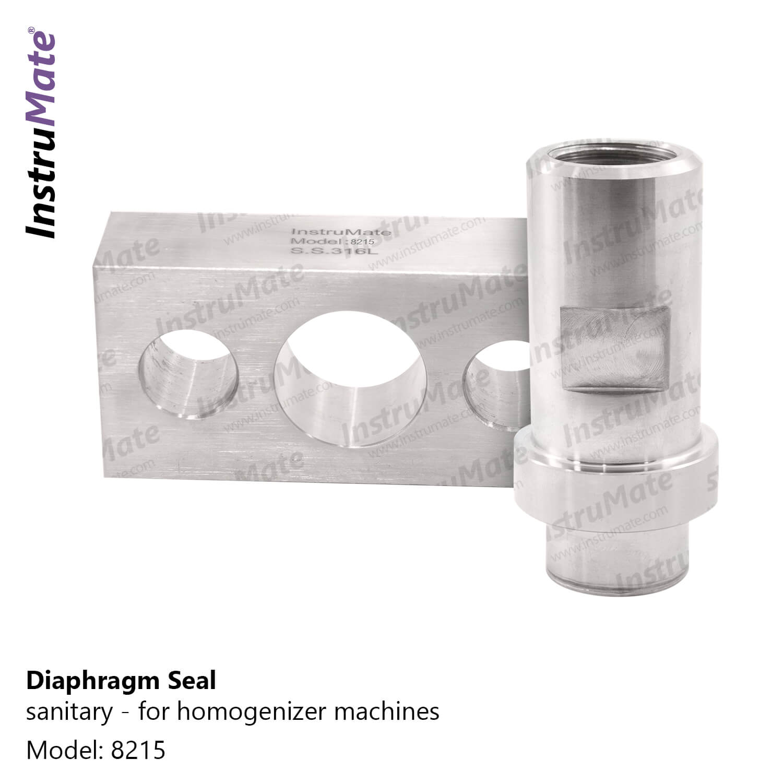 Sanitary Diaphragm Seal - 8215 - InstruMate